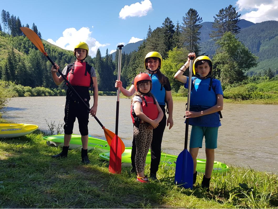 Rafting Bucovina 1